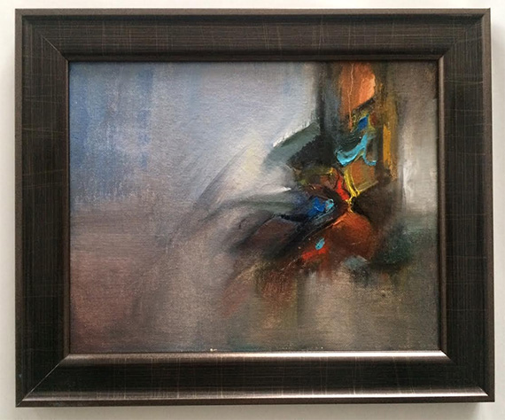 untitled abstract number one framed