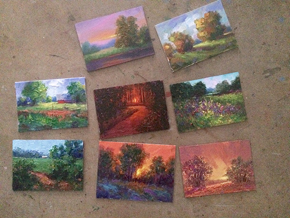 Eight Paintings