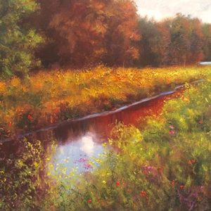 Rickles Creek Large Painting