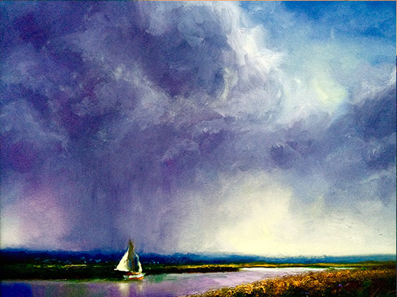 Mobile Bay Seascape Giclee