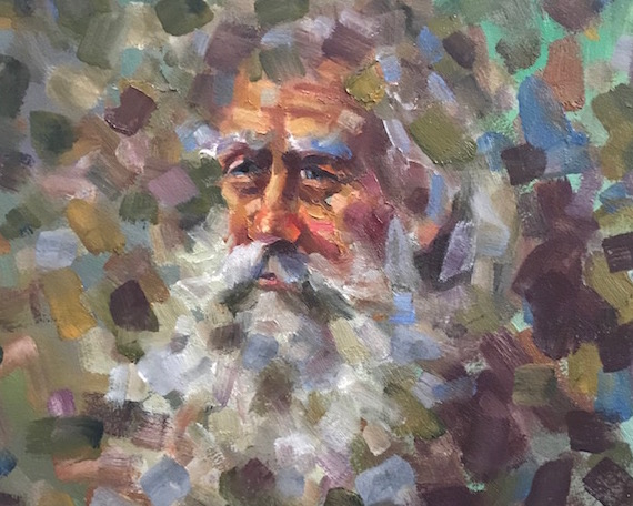 Old Man Paintings