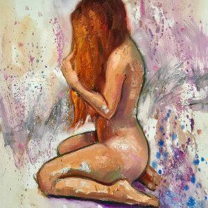 Redhead Contemporary Nude