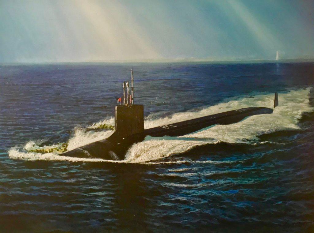USS Mississippi Art