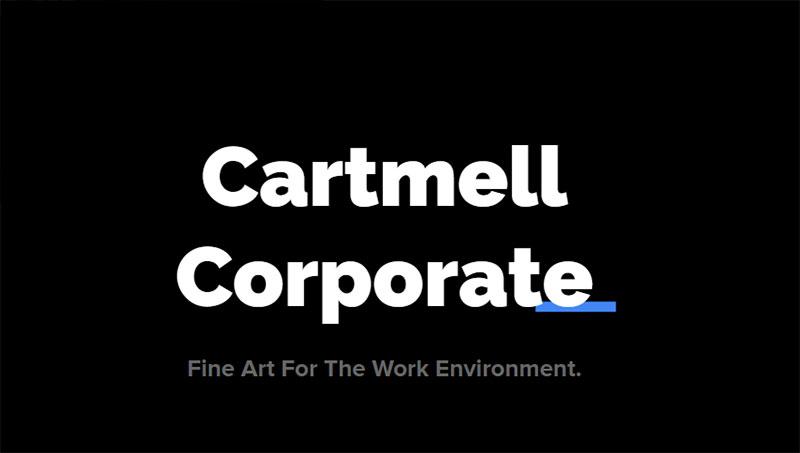 cartmell corporate art