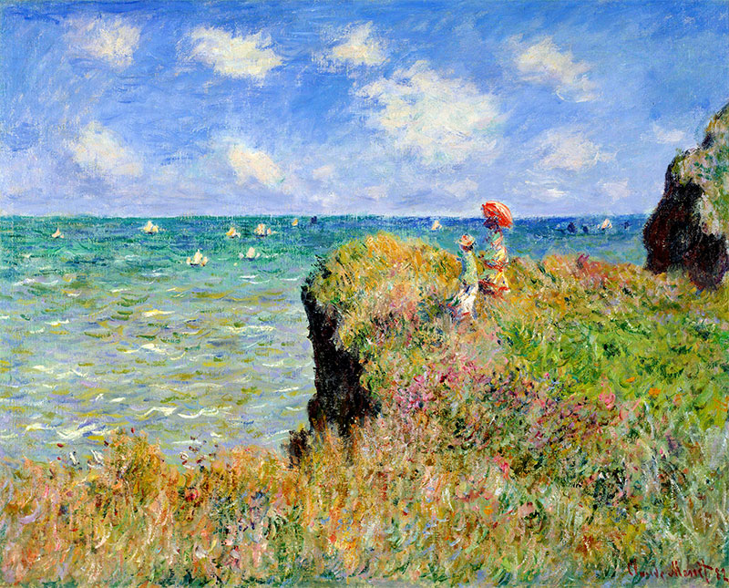 claude monet plein air painting