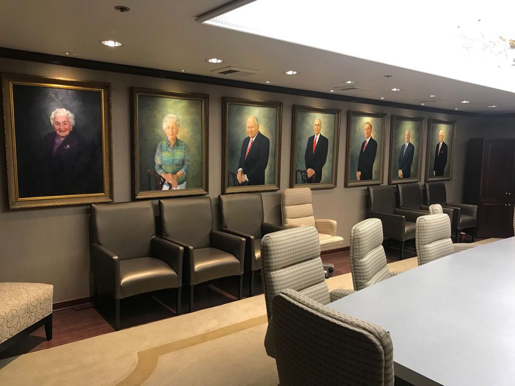 Rush Hospital Oil Paintings