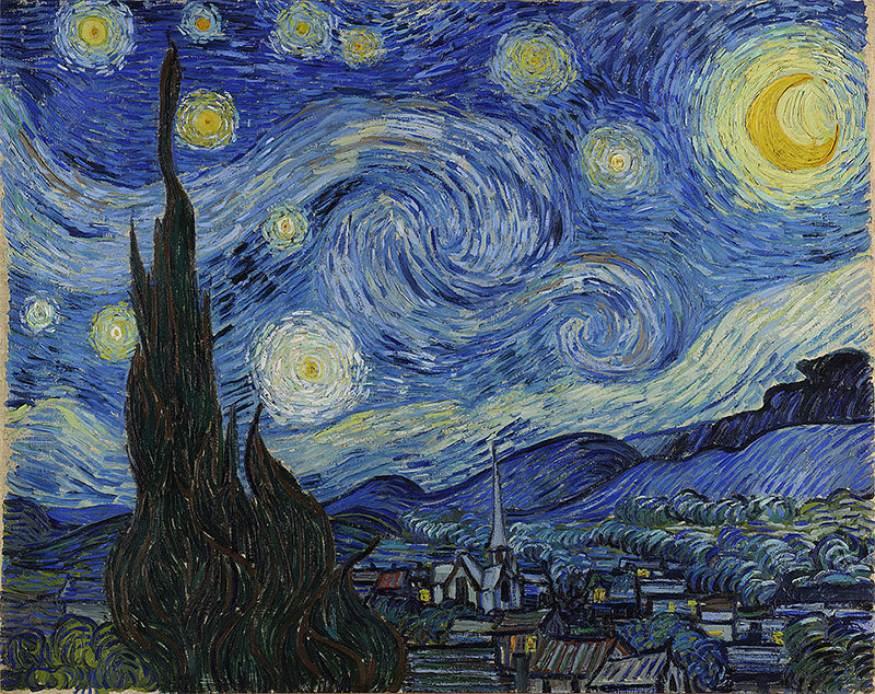 "Vincent Van Gogh ""Starry Night"""