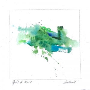 April 4 2018 Watercolor Abstract