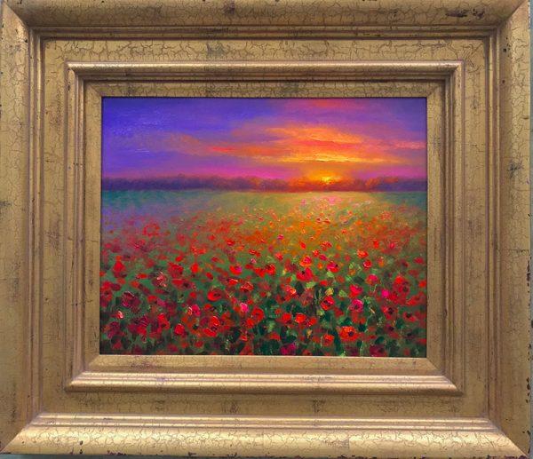 Memorial Day Painting Framed