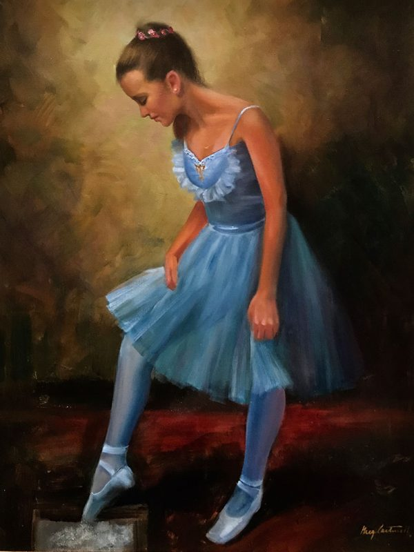 rozen box ballet dancer painting