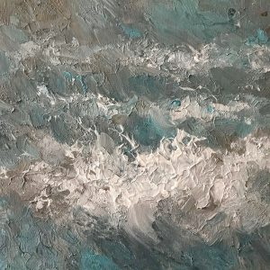 Atlantic Abstract Oil Painting