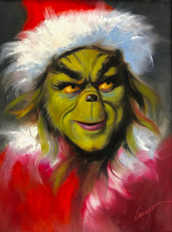 The Grinch Painting